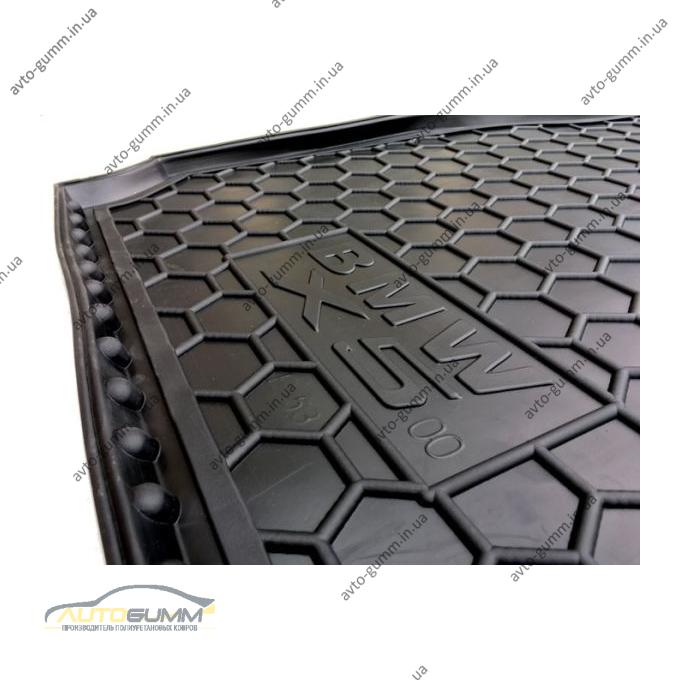 Автомобильный коврик в багажник BMW X5 (E53) 2000- (Avto-Gumm)