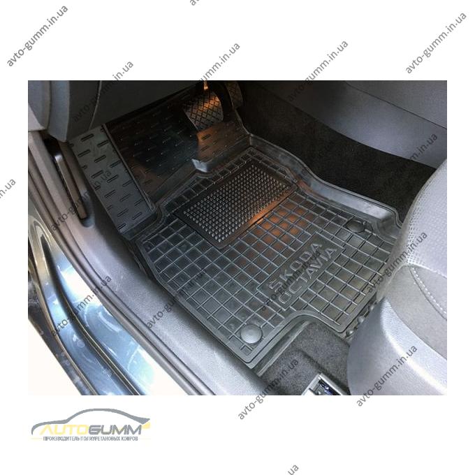 Передние коврики в автомобиль Skoda Octavia A7 2013- (Avto-Gumm)