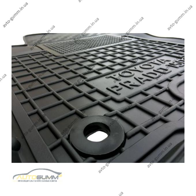 Водительский коврик в салон Toyota Land Cruiser Prado 150 10-/13- (Avto-Gumm)