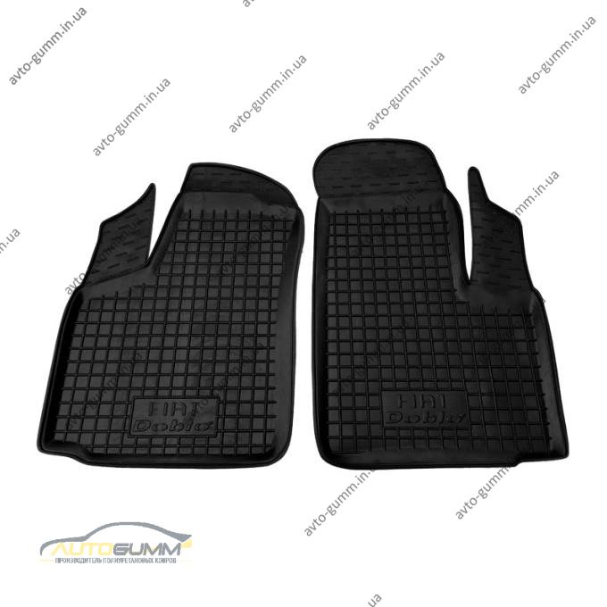 Передние коврики в автомобиль Fiat Doblo 2000- (Avto-Gumm)