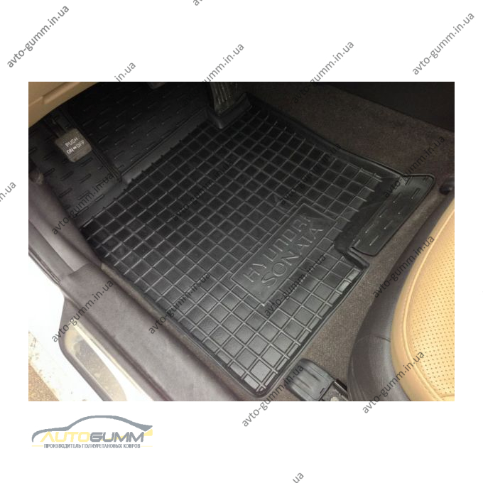 Автомобильные коврики в салон Hyundai Sonata YF/7 2010- (Avto-Gumm)