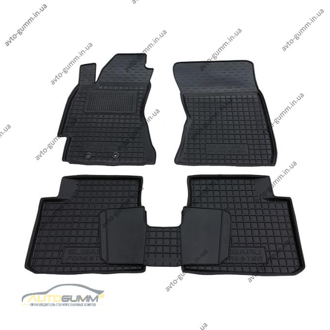 Автомобильные коврики в салон Subaru Forester 3 2008-2013 (Avto-Gumm)