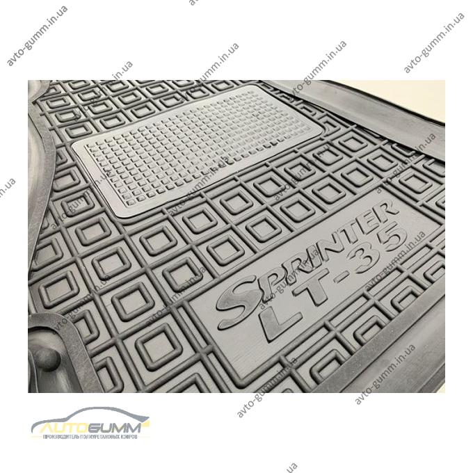 Автомобильные коврики в салон Mercedes Sprinter (W901/905) 95-/Volkswagen LT35 96- (Avto-Gumm)