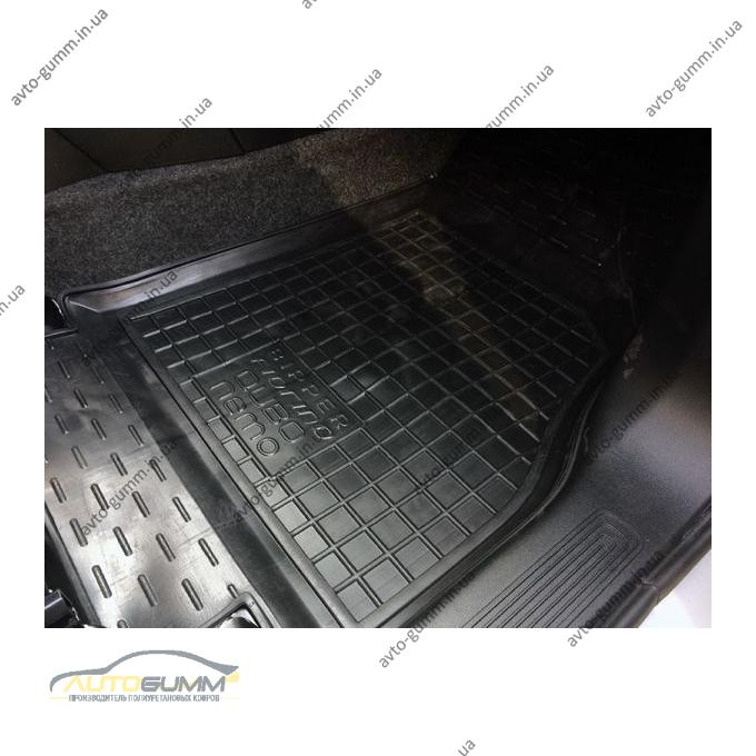 Автомобильные коврики в салон Fiat Qubo/Fiorino 08-/Citroen Nemo 07-/Peugeot Bipper 08- (Avto-Gumm)