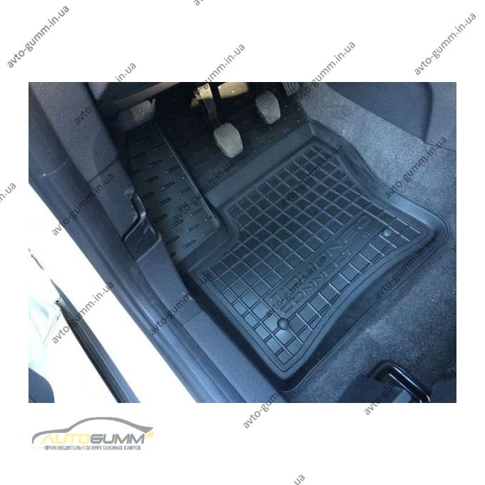 Автомобильные коврики в салон Ford Connect 2013- (короткая база) (Avto-Gumm)