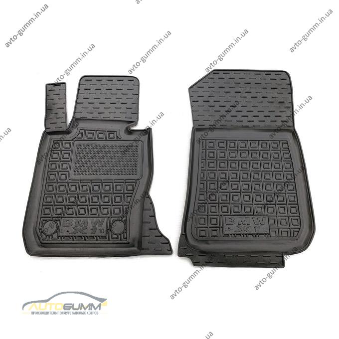 Передні килимки в автомобіль BMW X1 (E84) 2008-2014 (Avto-Gumm)