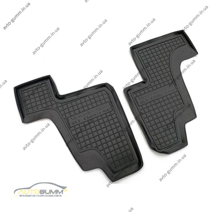 Автомобильные коврики в салон Mercedes GL (X166) 12-/GLS 14- (3-й ряд) (Avto-Gumm)