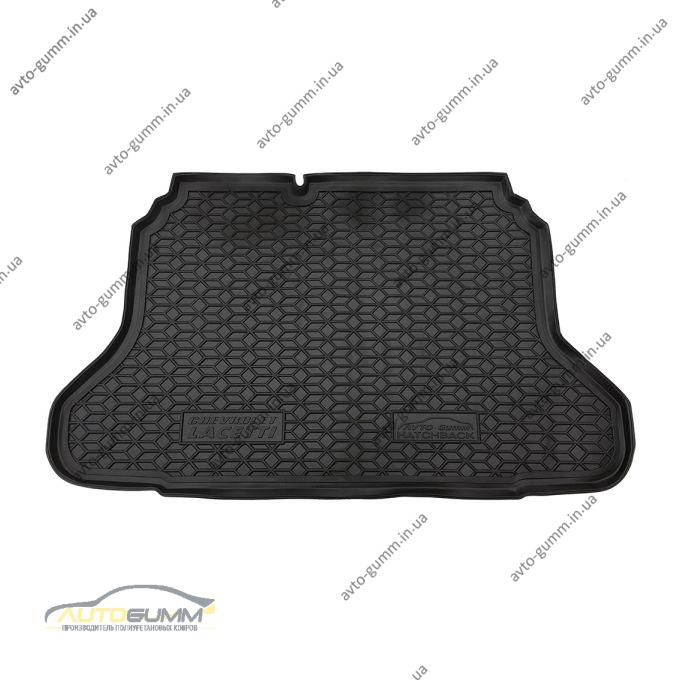 Автомобильный коврик в багажник Chevrolet Lacetti 2004- Hatchback (Avto-Gumm)