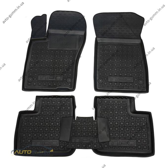 Автомобильные коврики в салон Fiat Tipo 2016- Sedan (Base) (Avto-Gumm)
