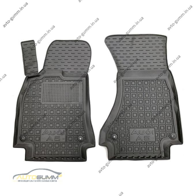 Передние коврики в автомобиль Audi A5 2009- (Avto-Gumm)
