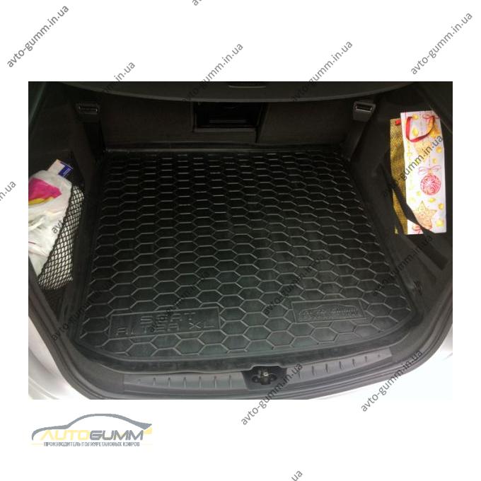 Автомобильный коврик в багажник Seat Altea XL 2006- верхняя полка (Avto-Gumm)