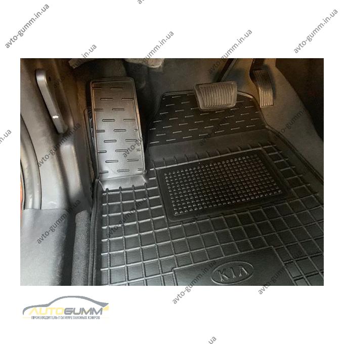 Передние коврики в автомобиль Kia Soul 2008-2014 (Avto-Gumm)