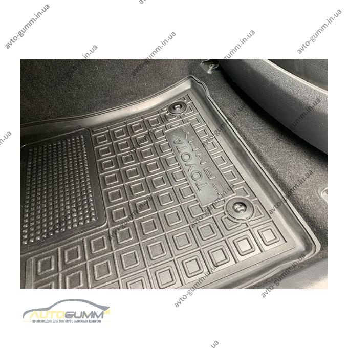 Передні килимки в автомобіль Toyota Camry 70 2018- (Avto-Gumm)