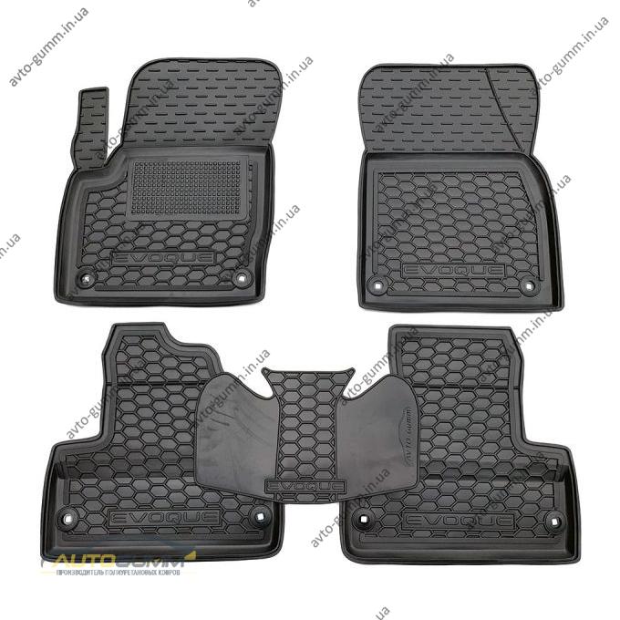 Автомобильные коврики в салон Range Rover Evoque 2011-2018 (Avto-Gumm)