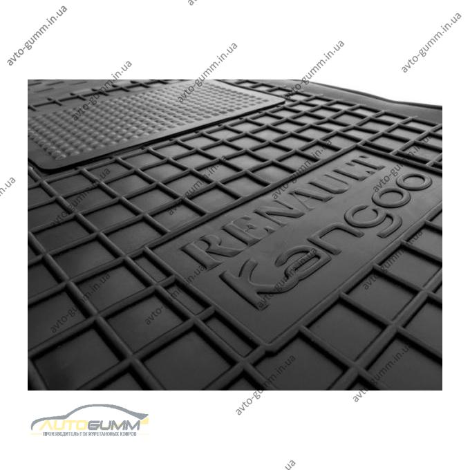 Автомобильные коврики в салон Renault Kangoo 1998- (3 двери) (Avto-Gumm)
