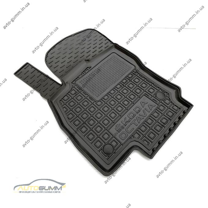 Водительский коврик в салон Skoda Octavia A8 2020- (AVTO-Gumm)