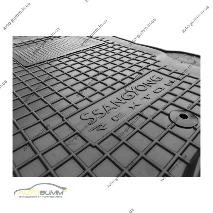 Водительский коврик в салон Ssang Yong Rexton 2/W 07-/13- (Avto-Gumm)