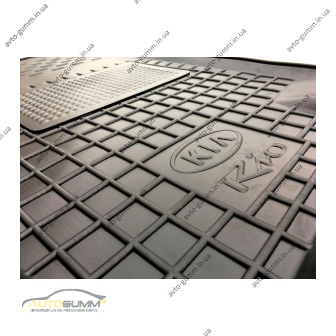 Водительский коврик в салон Kia Rio 2006-2010 (Avto-Gumm)