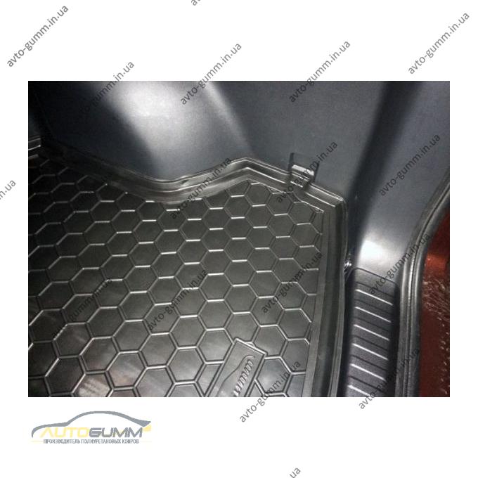 Автомобильный коврик в багажник Honda CR-V 2013- (Avto-Gumm)