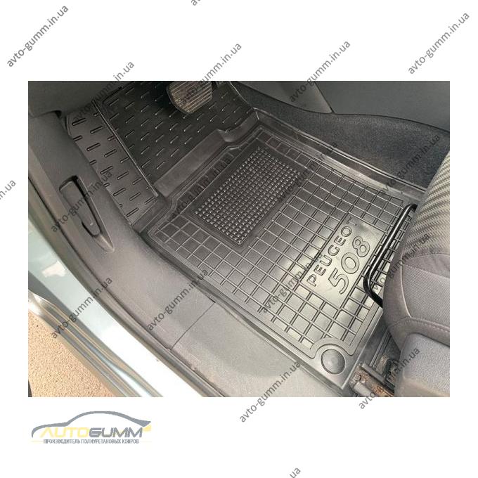 Передние коврики в автомобиль Peugeot 508 2011- (Avto-Gumm)