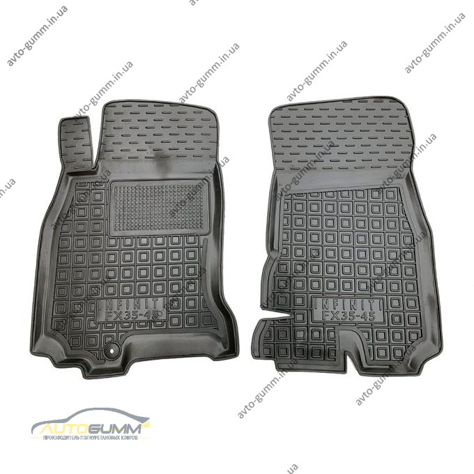 Передние коврики в автомобиль Infiniti FX 2003-2008 (Avto-Gumm)
