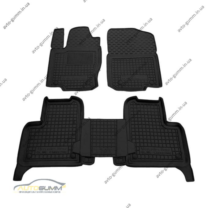 Автомобильные коврики в салон Mercedes ML (W166) 11-/GLE 14- (Avto-Gumm)