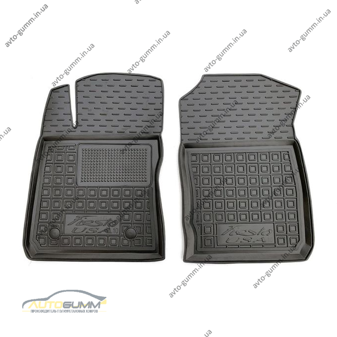 Передние коврики в автомобиль Ford Fiesta 2010- USA (AVTO-Gumm)