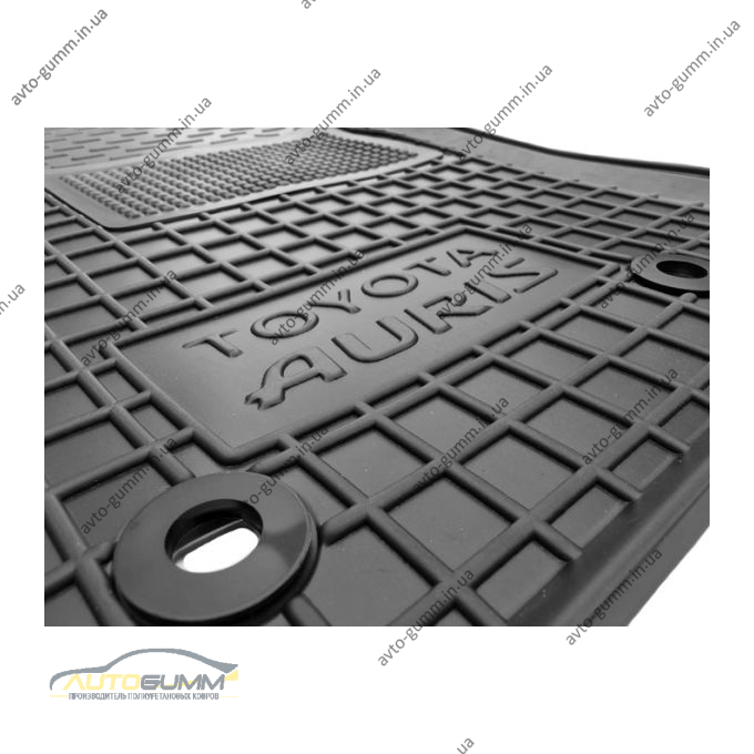 Водійський килимок в салон Toyota Auris 2007-2013 (Avto-Gumm)