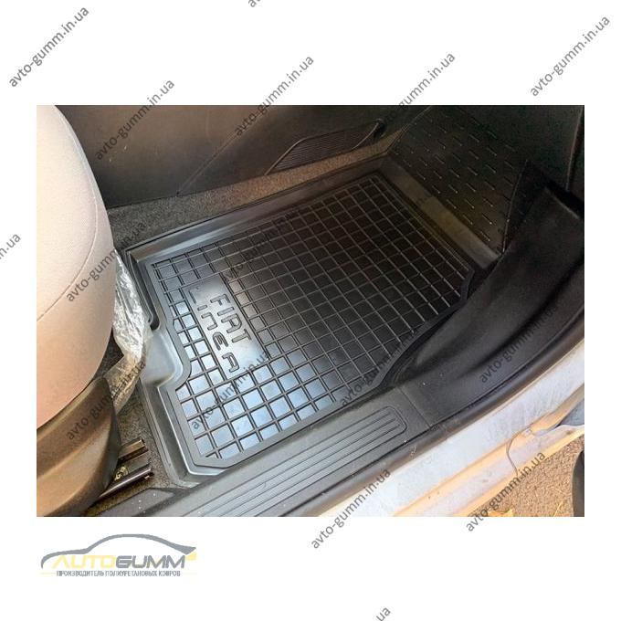 Передние коврики в автомобиль Fiat Linea 2007- (Avto-Gumm)