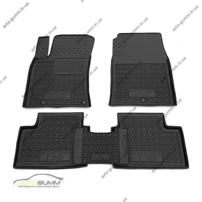 Автомобільні килимки в салон Hyundai i30 2017- (Avto-Gumm)