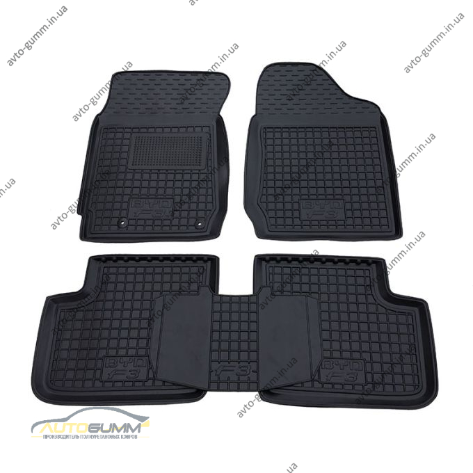 Автомобильные коврики в салон BYD F3 2005- (МКПП) (Avto-Gumm)