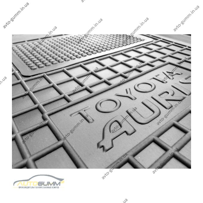 Водительский коврик в салон Toyota Auris 2013- (Avto-Gumm)