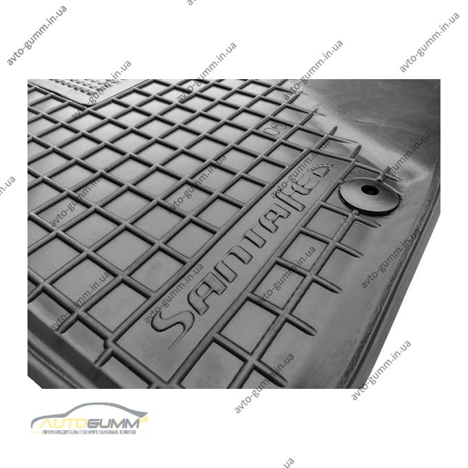 Водительский коврик в салон Hyundai Santa Fe 2006-2010 (Avto-Gumm)