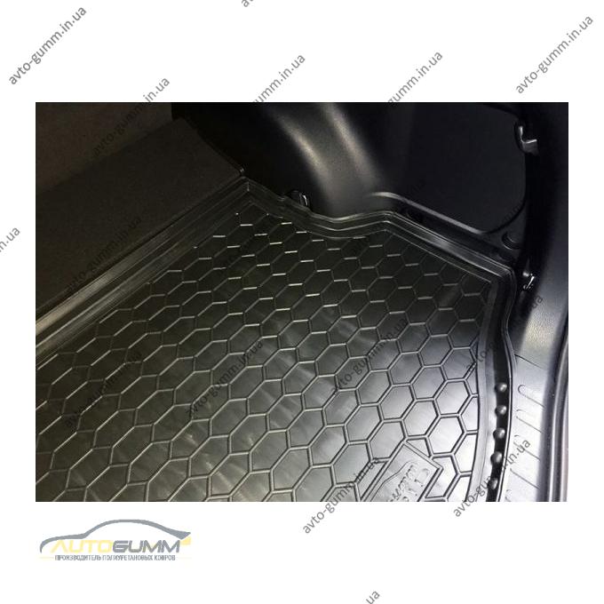 Автомобильный коврик в багажник Toyota RAV4 2013- hybrid (Avto-Gumm)