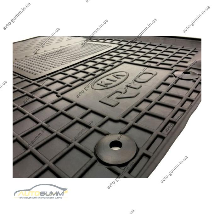 Водительский коврик в салон KIA Rio 2011- (Avto-Gumm)
