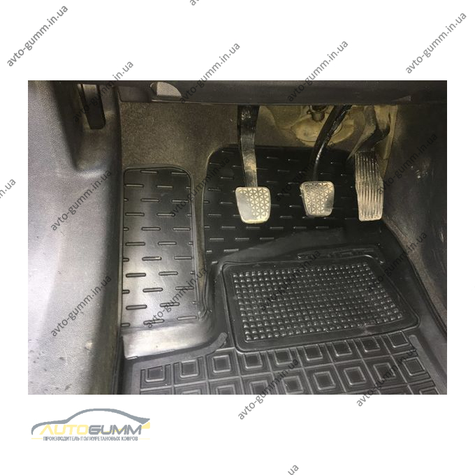 Водительский коврик в салон Opel Zafira B 2005- (Avto-Gumm)