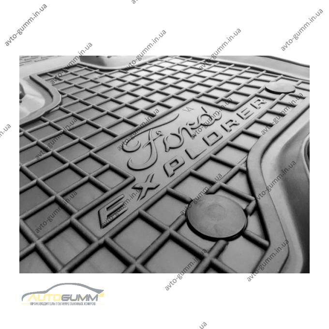 Водительский коврик в салон Ford Explorer 2010- (Avto-Gumm)
