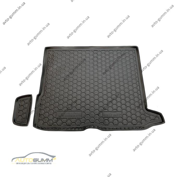 Автомобильный коврик в багажник Mercedes GLC (X253) 2016- (Avto-Gumm)