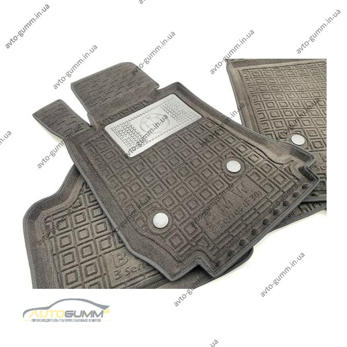 Гибридные коврики в салон BMW 3 (F30) 2012- (AVTO-Gumm)
