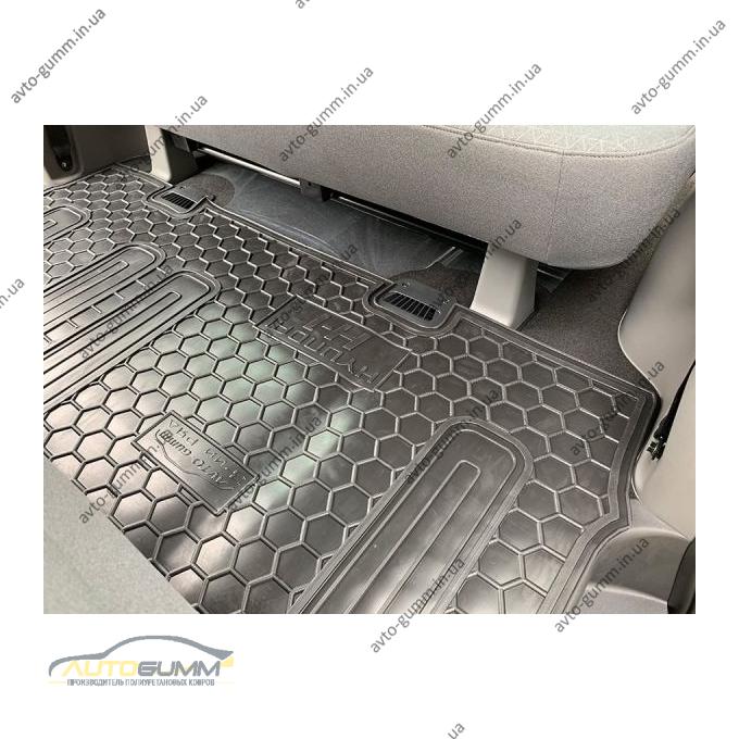 Автомобильные коврики в салон Hyundai H1 2007- (3-й ряд) (Avto-Gumm)