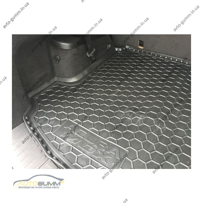 Автомобильный коврик в багажник Acura MDX 2006-2014 (Avto-Gumm)