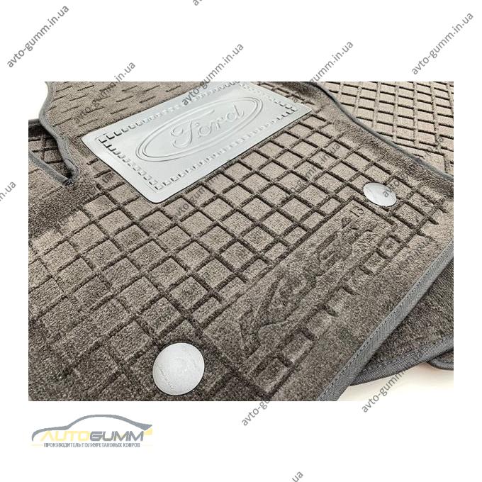 Гибридные коврики в салон Ford Kuga 2013- (AVTO-Gumm)