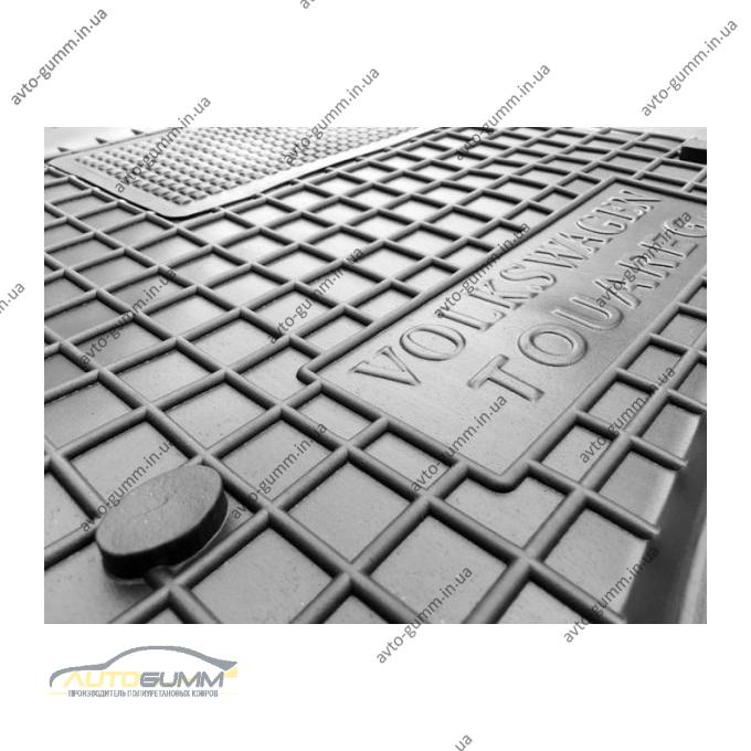Водительский коврик в салон Volkswagen Touareg 2002-2010 (Avto-Gumm)