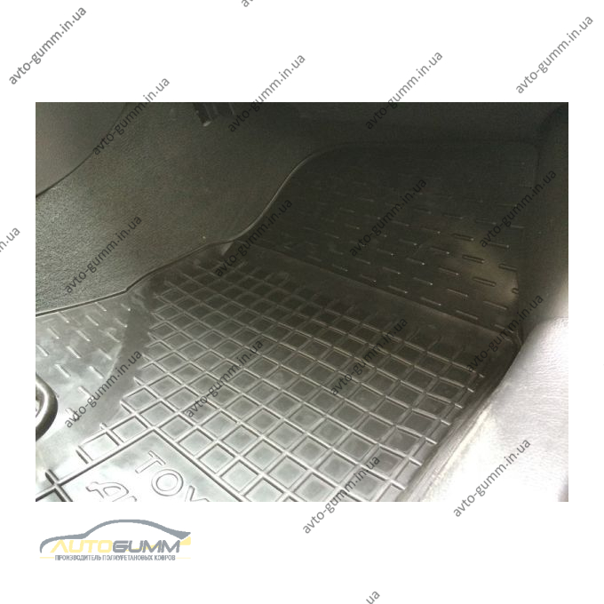 Автомобильные коврики в салон Toyota Avensis 2003-2009 (Avto-Gumm)