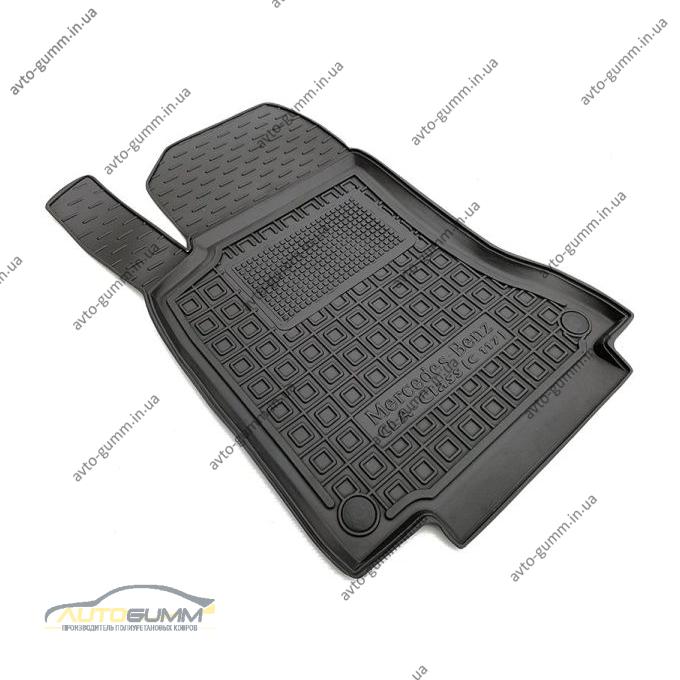 Водительский коврик в салон Mercedes CLA (C117) 2014- (Avto-Gumm)