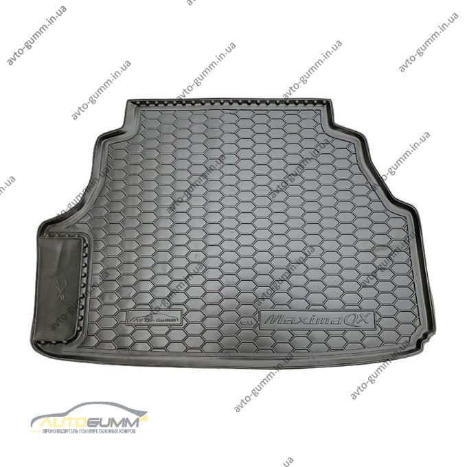 Автомобильный коврик в багажник Nissan Maxima 2000- (Avto-Gumm)
