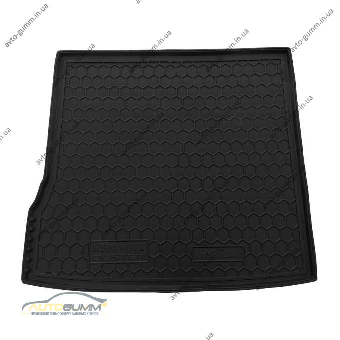 Автомобильный коврик в багажник Renault Duster 2010-/2015- (2WD) (Avto-Gumm)