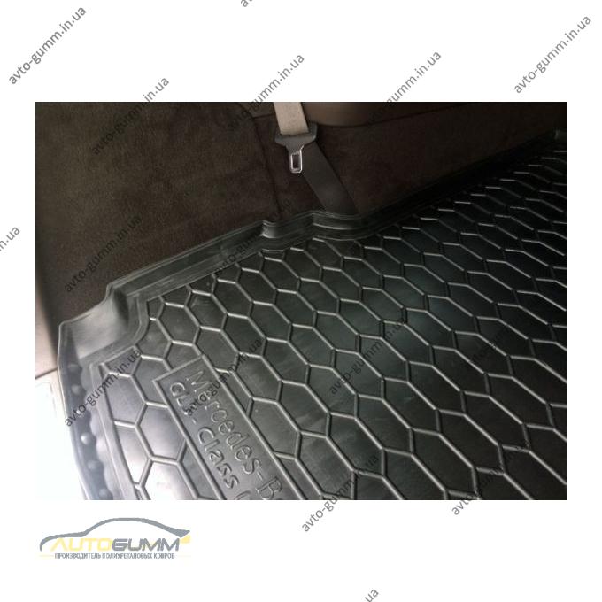 Автомобильный коврик в багажник Mercedes GL (X166) 2012-/GLS 2016- (Avto-Gumm)