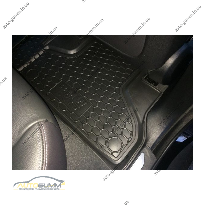 Автомобильные коврики в салон BMW X5 (F15) 2013- (Avto-Gumm)