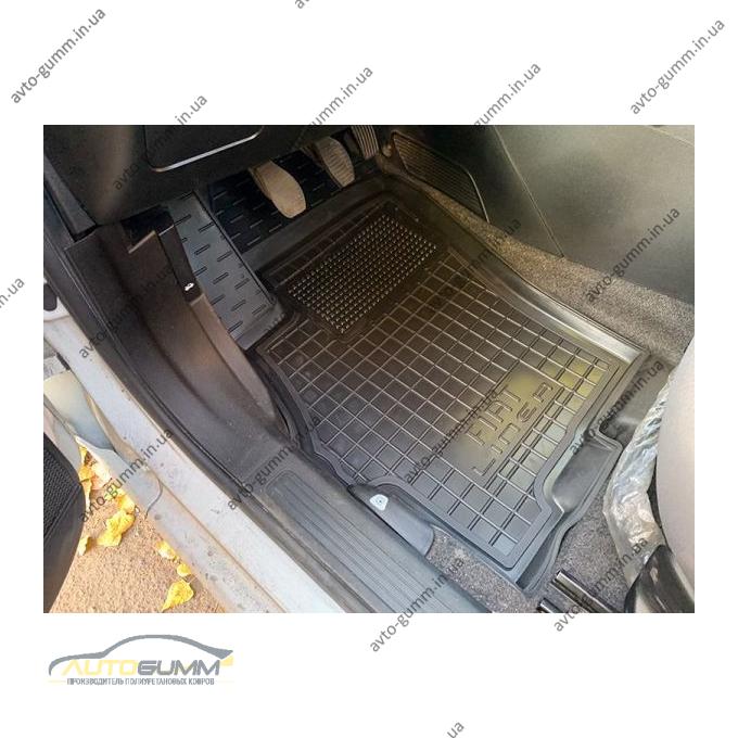 Водительский коврик в салон Fiat Linea 2007- (Avto-Gumm)